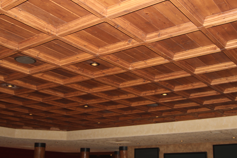 Photo Gallery Classic Coffers Wood Ceiling
