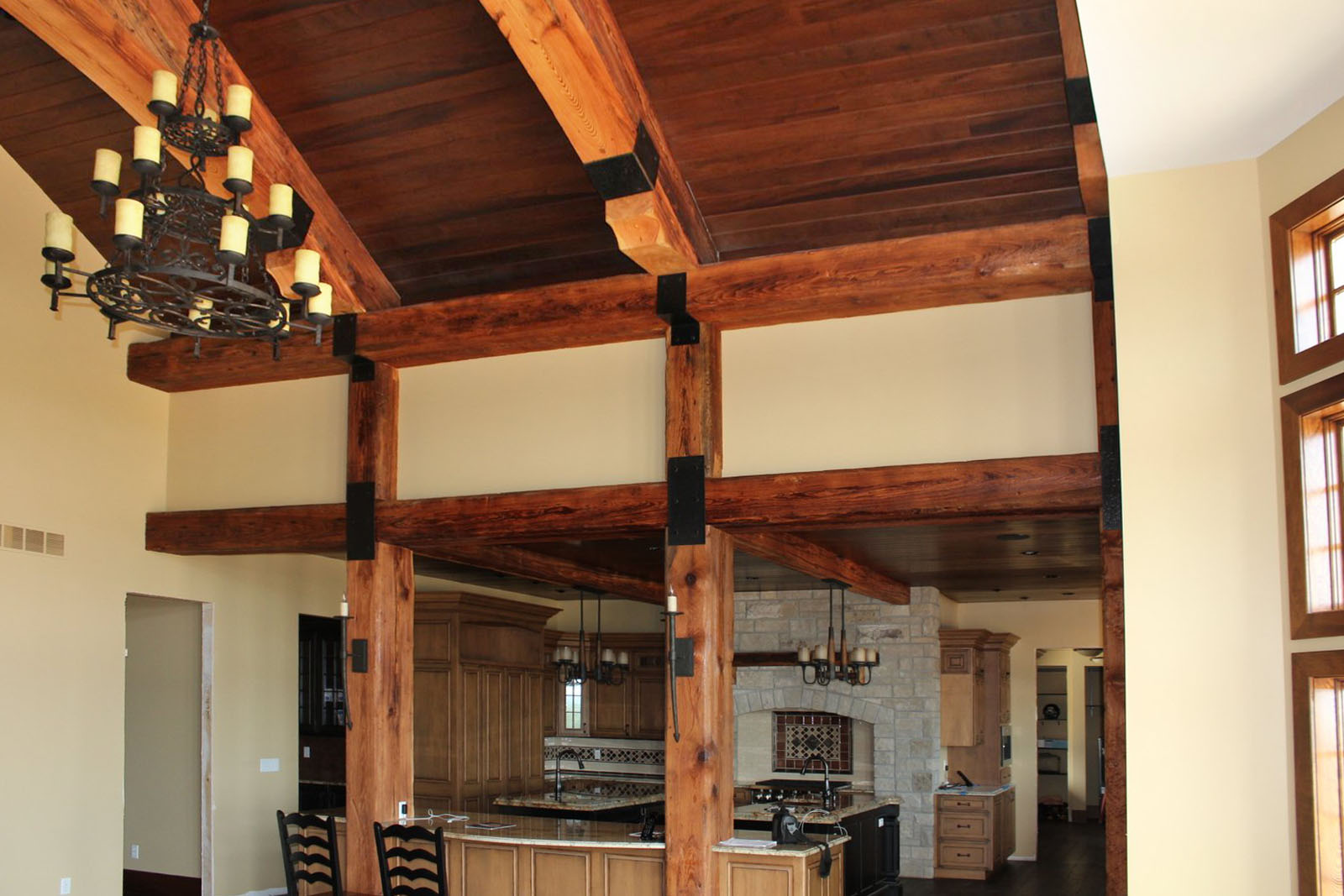 Rustic Reclaimed Beams Historic Timber And Plank