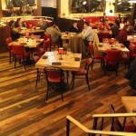Labriola reclaimed hardwood plank floor