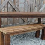 rustic reclaimed douglas fir farmhouse table