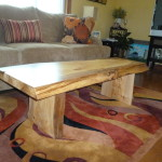 Beech Live Edge Coffee Table