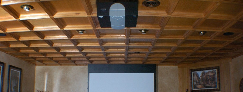 Patented Classic Coffers Ceiling System