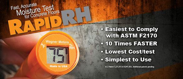 Wagner Rapid RH moisture meter