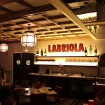 Labriola Coffered wood ceiling