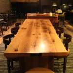 Reclaimed Oak Communal Table