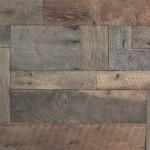recycled white oak wood brick