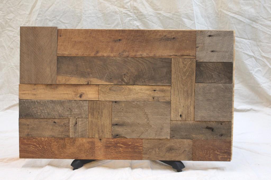 reclaimed hardwood woodbrick