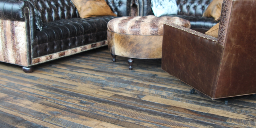 Tony Stewart Skip faced mixed hardwood floors natural oil