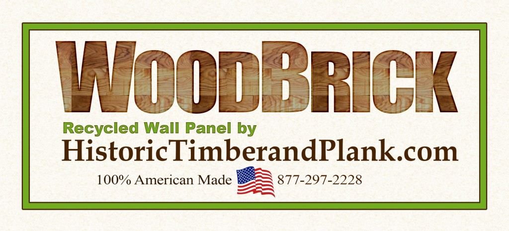 WoodBrick Sign Color