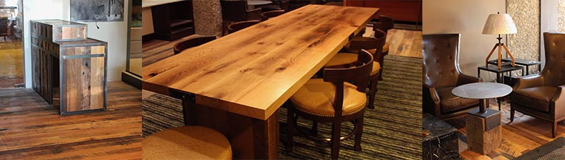 Reclaimed Recycled wood
