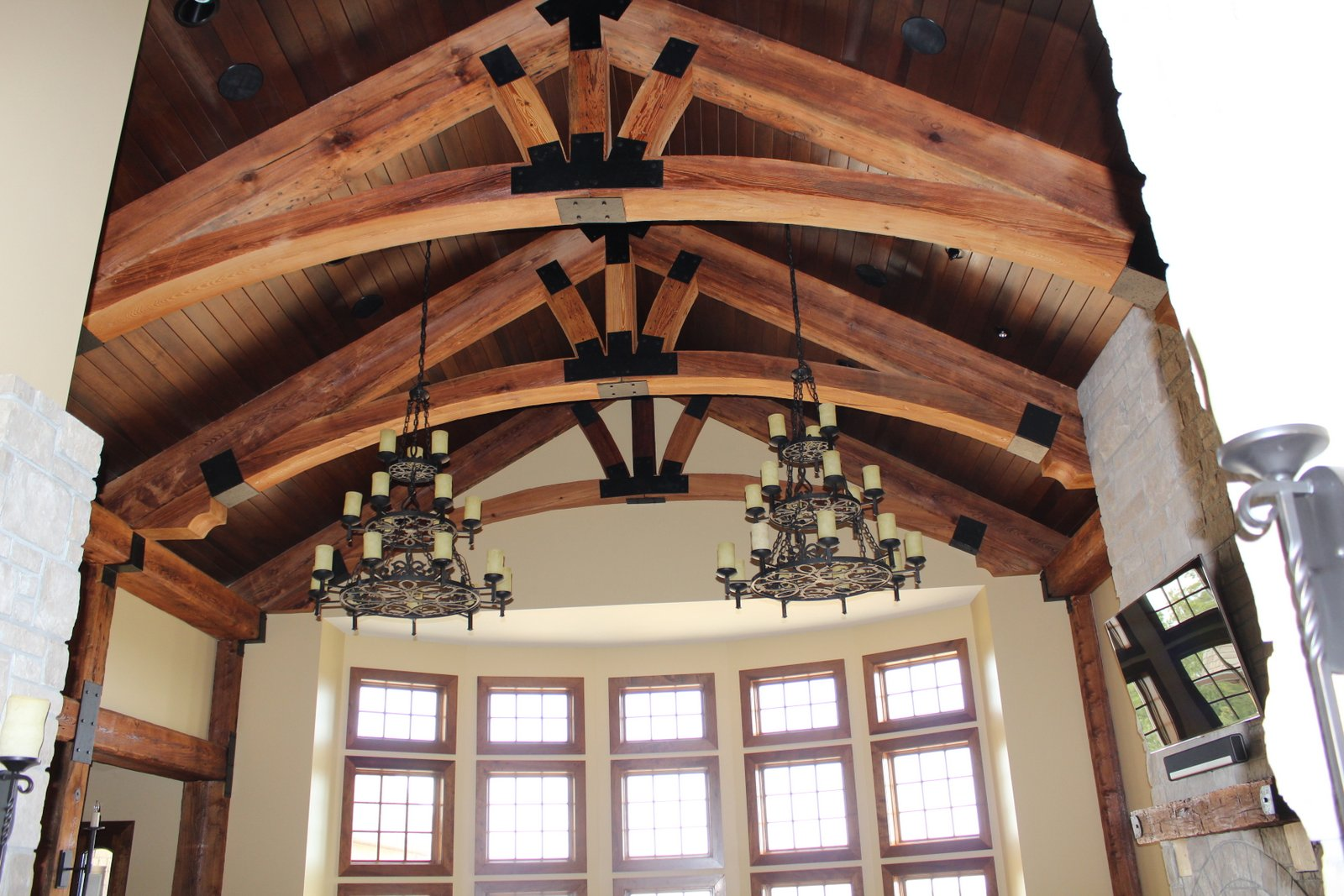 Reclaimed Beams – Residence St Louis, MO