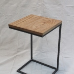 reclaimed oak end table natural OSMO oil