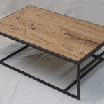 reclaimed oak coffee table natural OSMO oil