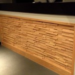 woodstone recycled wall panel