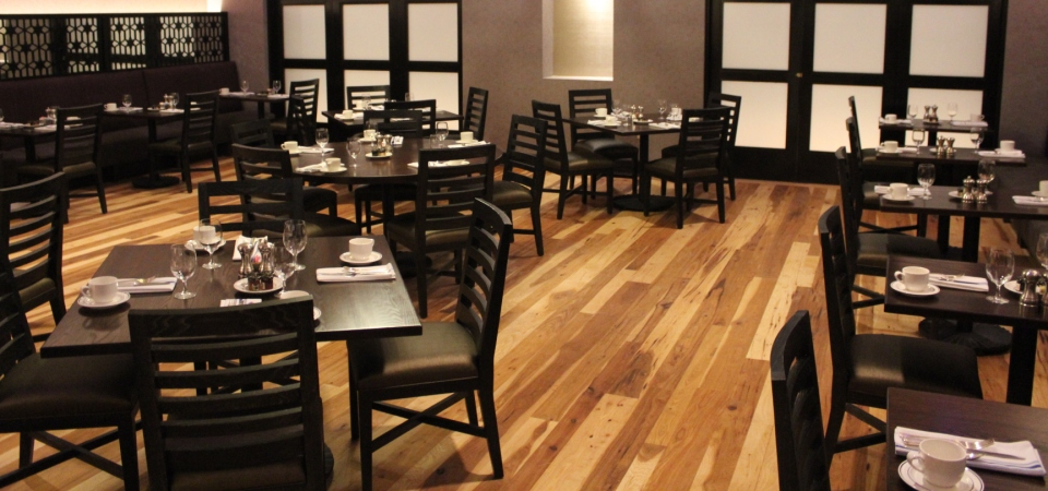 Hickory Plank Flooring – Marriott Little Rock, AR