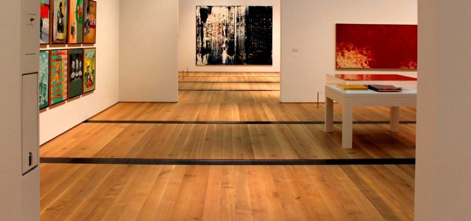 St Louis Art Museum – Quater sawn White Oak flooring