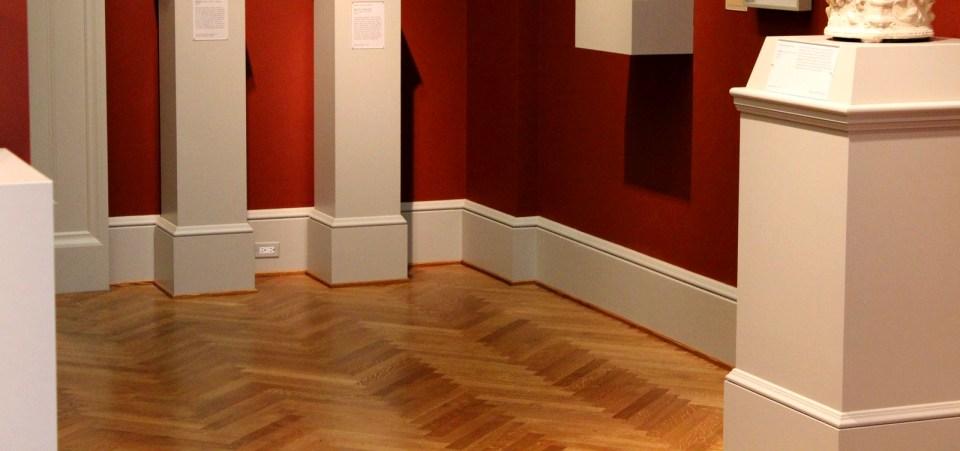 St Louis Art Museum – Herringbone quarter sawn flooring