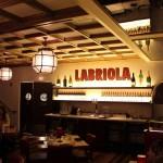 Labriola Coffered wood ceiling